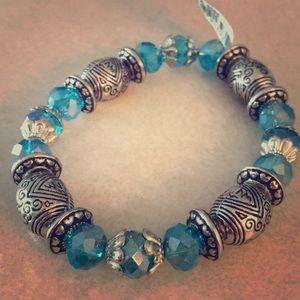4 for $20 💫 | Blue beaded bracelet